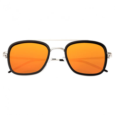 Sixty One Orient Polarized Sunglasses - Black/Red-Orange SIXS138RD
