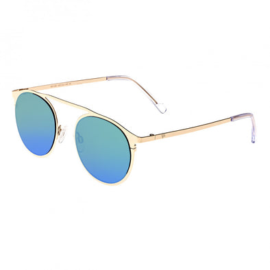 Sixty One Avalon Sunglasses - Gold/Green