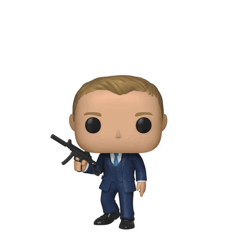 Funko Pop Movies: James Bond - Daniel Craig (Quantum) - Preventa