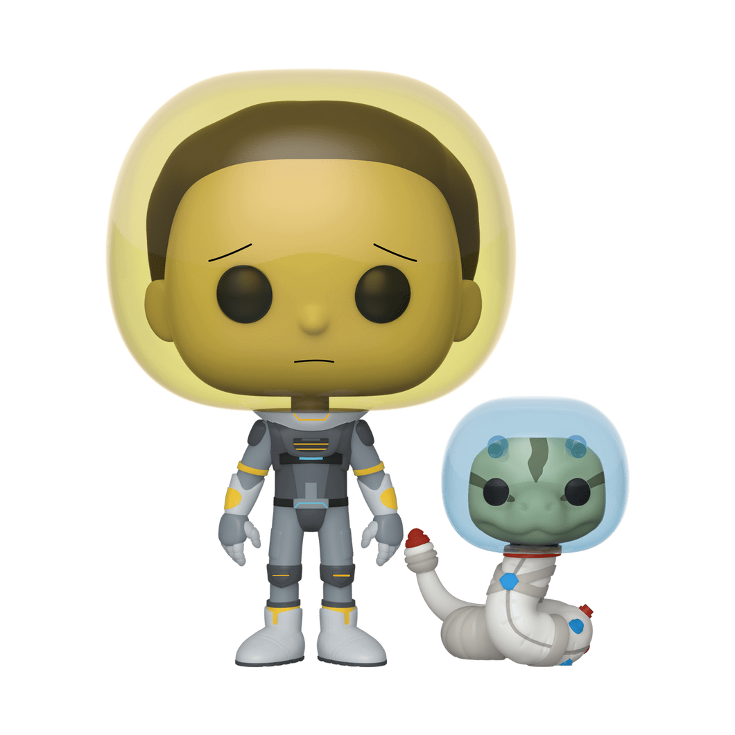 Funko Pop Animation: Rick y Morty - Traje Morty Serpiente - preventa
