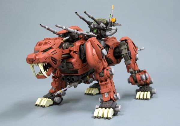 Kotobukiya Zoids HMM Series - EZ-16 Saber Tiger Marking Plus Version Preventa