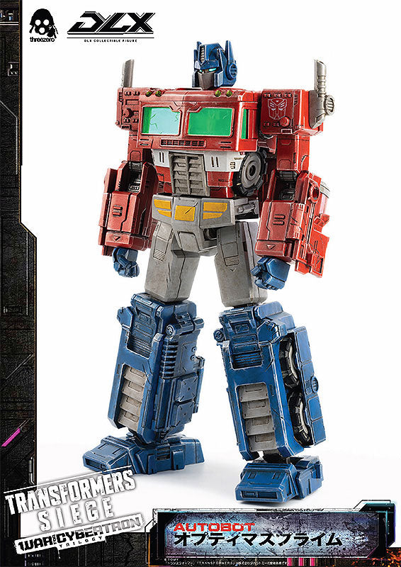Transformers DLX Scale - War For Cybertron Trilogy: Siege - Optimus Prime Preventa