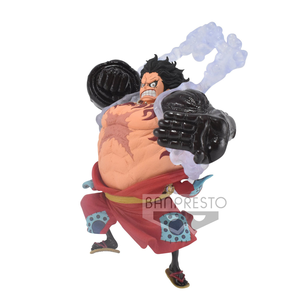 Banpresto King of Artist: One Piece Wano - Luffy Gear 4 Preventa