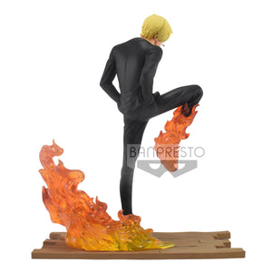 Banpresto Log File Selection: One Piece - Sanji Pose de Batalla Preventa