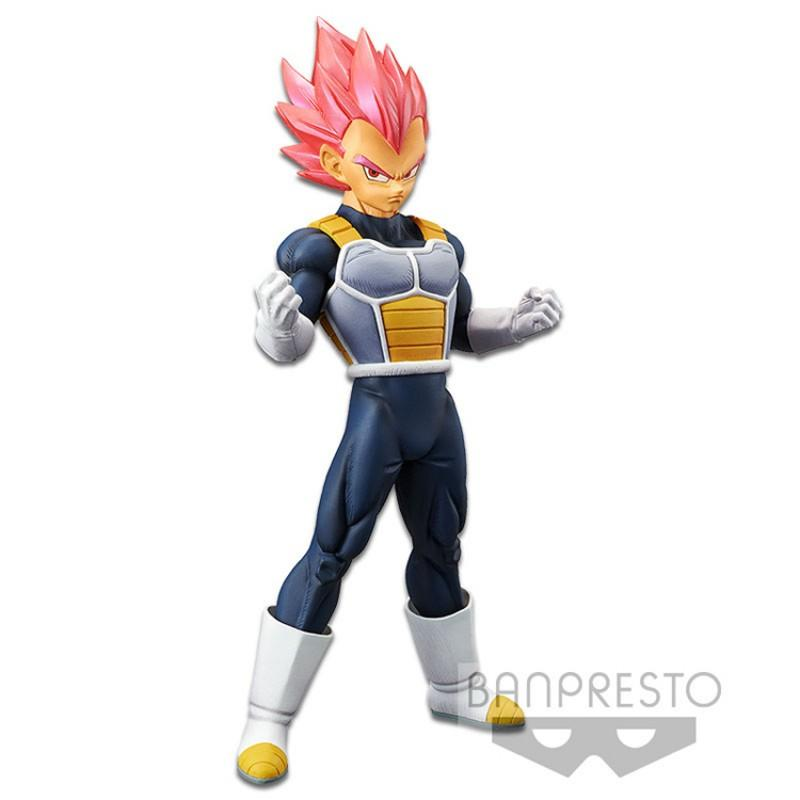 Banpresto Cyokoku Buyuden Dragon Ball - Vegeta super saiyan god