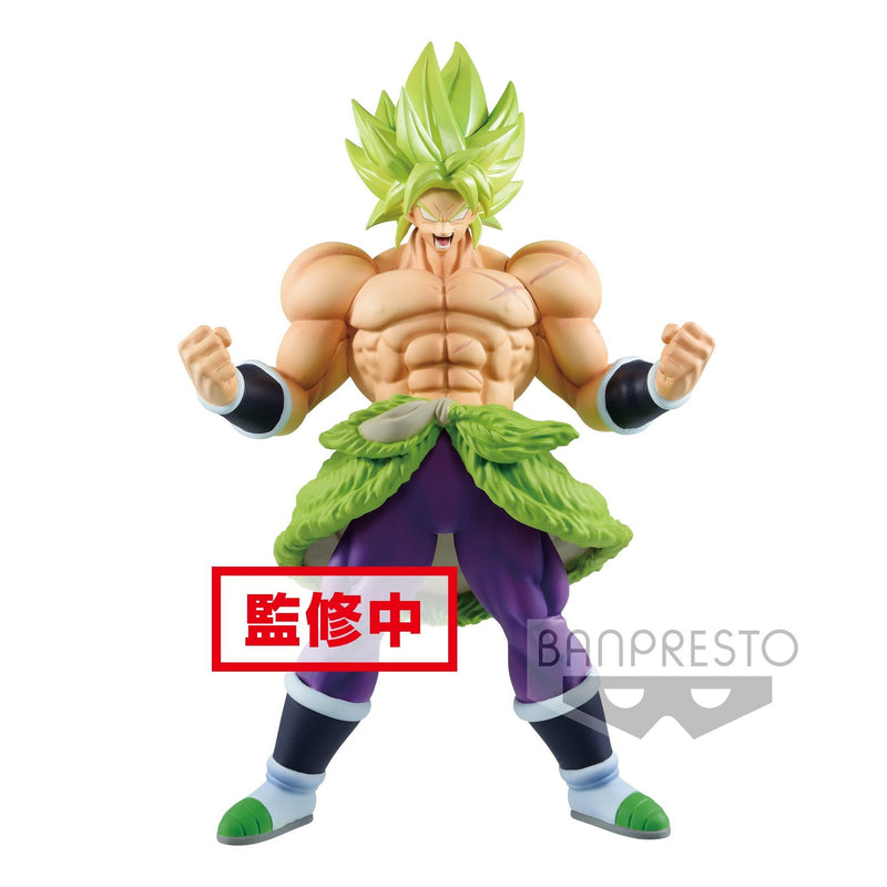 Banpresto Dragon Ball Super Movie Chokoku Buyuden Super Saiyan Broly Full Power Preventa