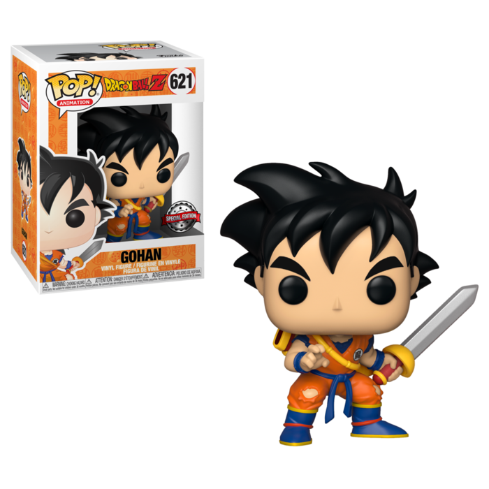 Funko Pop: Dragon Ball Z - Gohan con espada Exclusivo Preventa