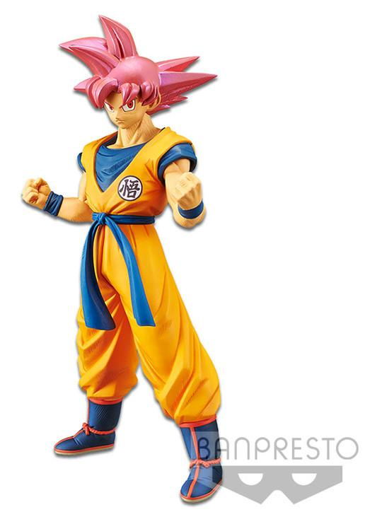 Banpresto Cyokoku Buyuden Dragon Ball - Goku super saiyan god