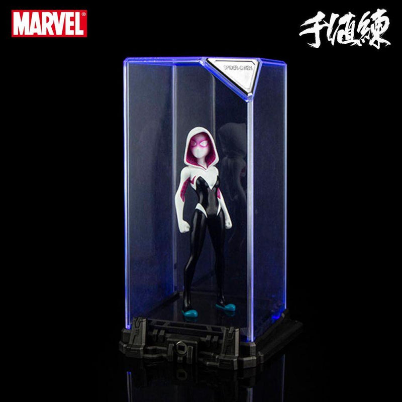 Sentinel Marvel Spider-Gwen Super Hero Illuminate Gallery Statue - Preventa