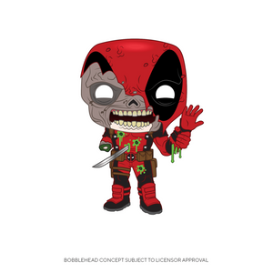 Funko Pop! Marvel: Marvel Zombies - Deadpool - preventa