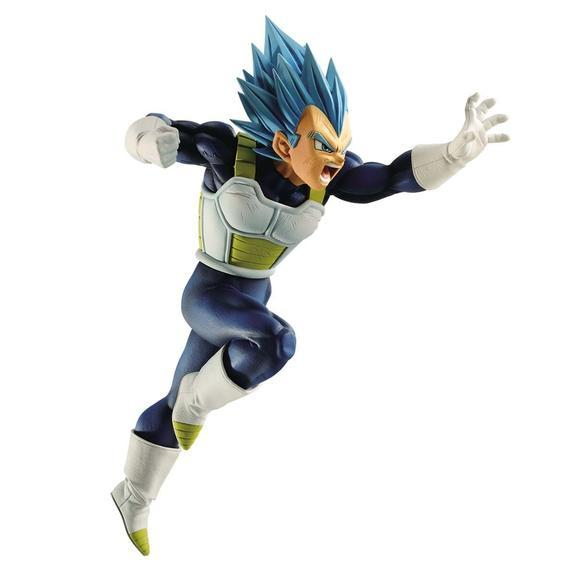Banpresto Dragon Ball Super SS God Super Saiyan Vegeta Z- Battle  Preventa