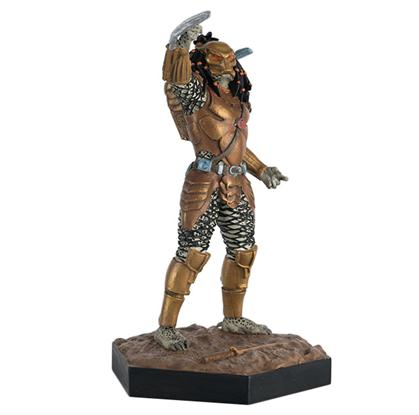 Eaglemoss Publications Alien and Predator War Top Knot Predator - Preventa