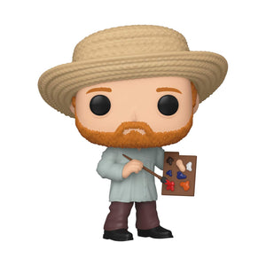 Funko Pop Artists: Vicent Van Gogh - preventa