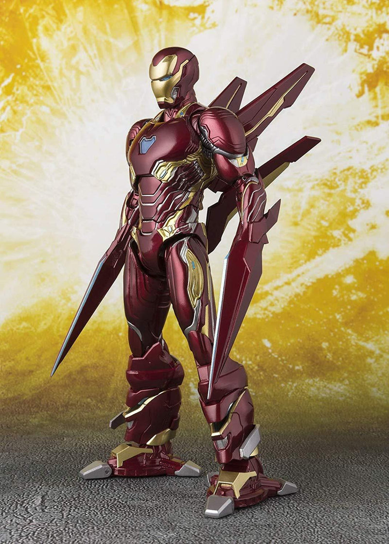 S.H. Figuarts Marvel: Avengers - Iron Man Mk-50 Nano-Weapon Set