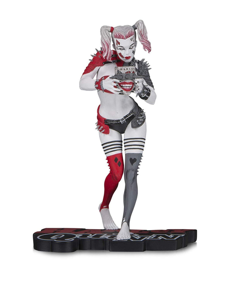 DC Collectibles Harley Quinn Red White and Black Metal Harley Quinn - Preventa