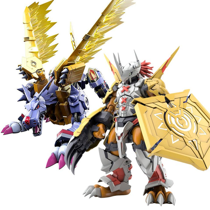 Pack Digimon Adventure - Wargreymon & Metal Garurumon