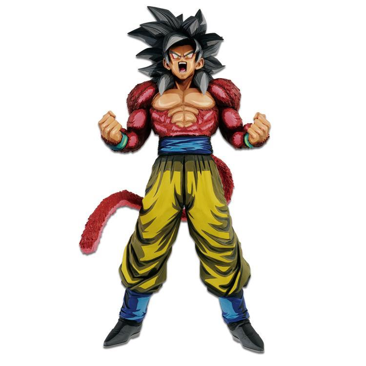 Banpresto Dragon Ball GT Super The Super Saiyan 4 Son Goku Master Stars Piece Manga Dimensions Preventa
