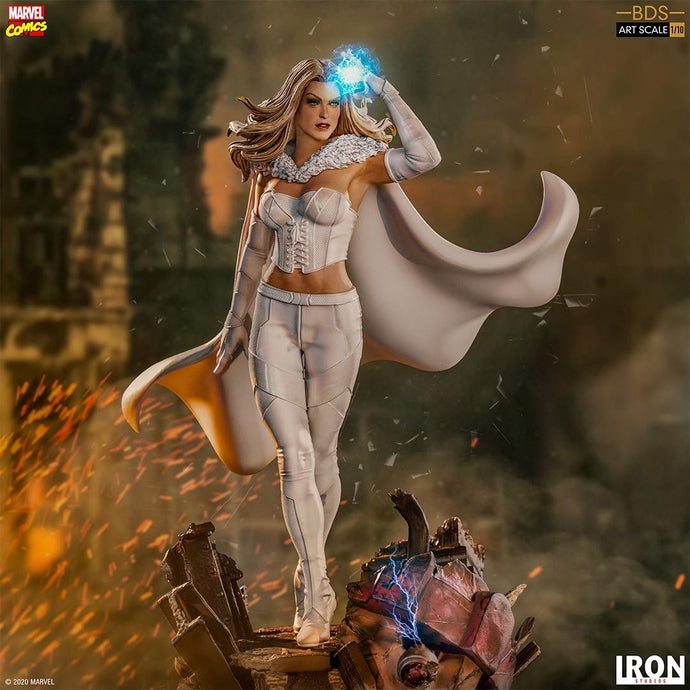 Iron Studios: X Men - Emma Frost Escala 1/10