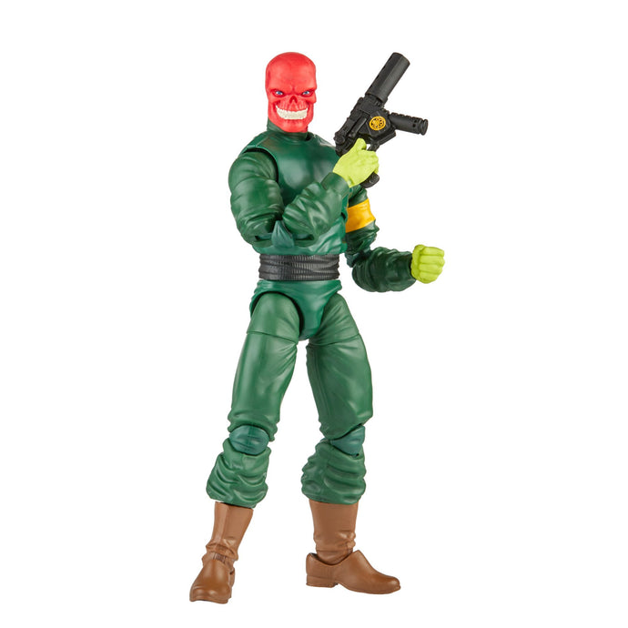 Hasbro Marvel Legends Baf Xemnu: Super Villains - Red Skull Preventa