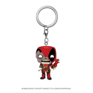 Funko Pop! Keychain: Marvel Zombies - Deadpool Llavero - preventa