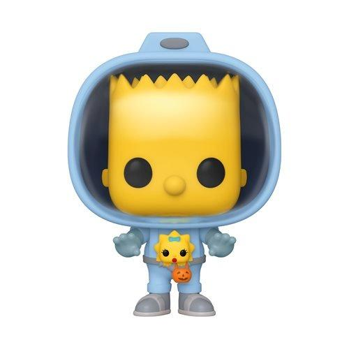 Funko Pop Animation: Simpsons - Bart con Maggie Alien Preventa