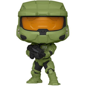 Funko Pop Games: Halo Infinite - Master Chief con Rifle MA40 Preventa