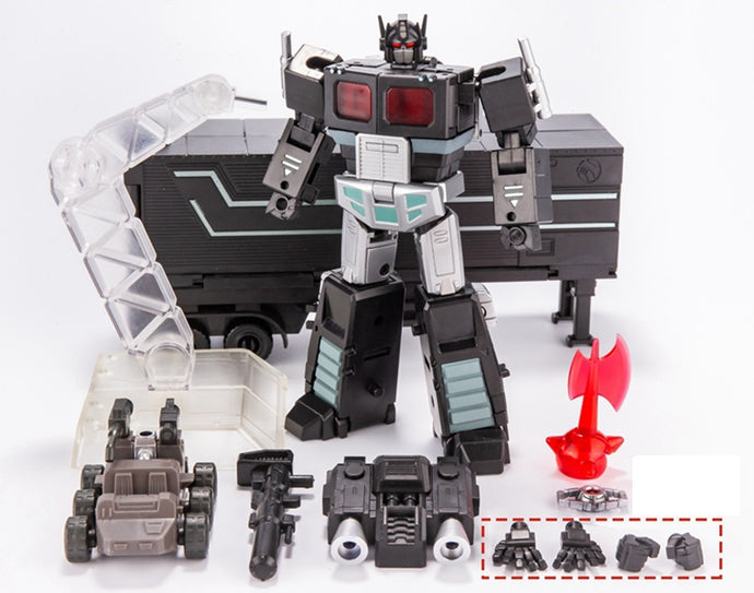 Transformers Mini Black Optimus Prime