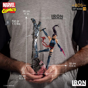 Iron Studios: X Men - Psylocke Escala  1/10