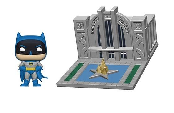 Funko Pop Town: Batman 80 - Salon de la Justicia con Batman - Preventa