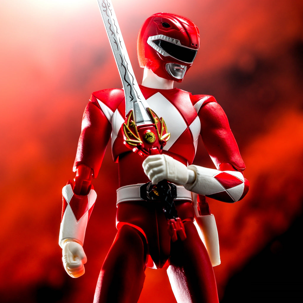 Bandai S.H Figuarts Power Rangers - Red Ranger SDCC