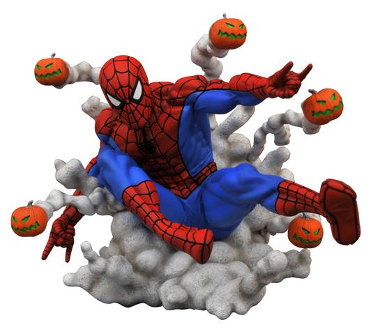 Diamond Select: Marvel Gallery - Spiderman Bombas Calabaza Preventa