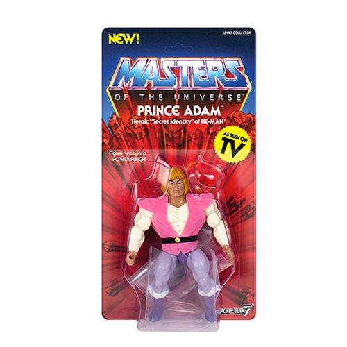 Super7 Masters of the Universe MOTU Vintage Prince Adam Preventa