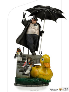 IRON Studios: Batman Returns - Pinguino Deluxe Escala de Art 1/10 Preventa