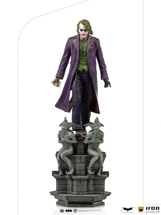 IRON Studios: Batman The Dark Knight - Joker Escala de Art 1/10 Preventa