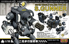 Model Kit Super Gunner Metal Slug