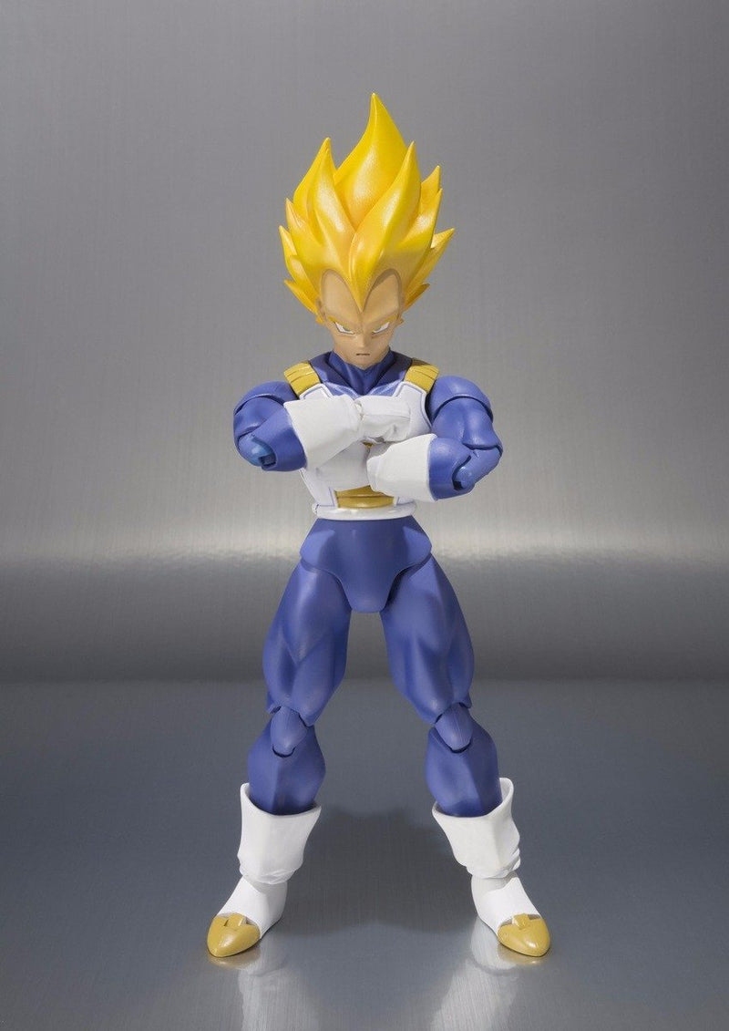 Akihabaratoys BANDAI SH FIGUARTS DRAGON BALL - VEGETA SUPER SAIYAN ADVANCE COLOR