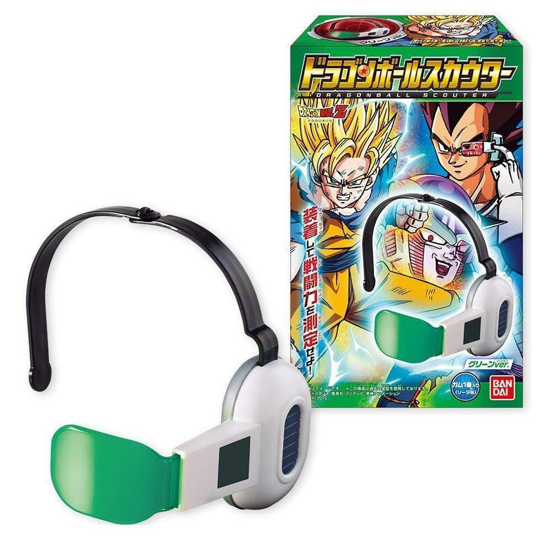BANDAI DRAGON BALL SCOUTERS - GREEN - preventa