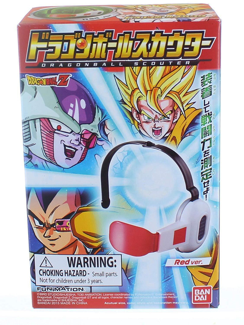 Akihabaratoys Coleccionable BANDAI DRAGON BALL SCOUTERS - RED - preventa