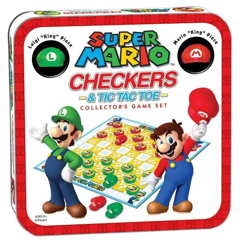 Akihabaratoys Coleccionable GAME COLLECTOR'S SET SUPER MARIO CHECKERS