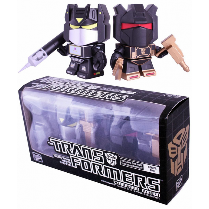 Akihabaratoys Coleccionable HASBRO TRANSFORMERS THE LOYAL SUBJECTS - CYBERTRON SOUNDWAVE & GRIMLOCK