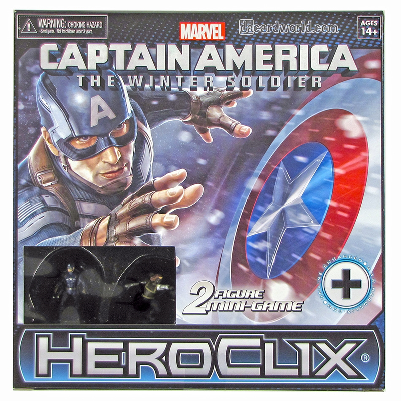 Akihabaratoys Coleccionable HEROCLIX MINI GAME CAPTAIN AMERICA THE WINTER SOLDIER