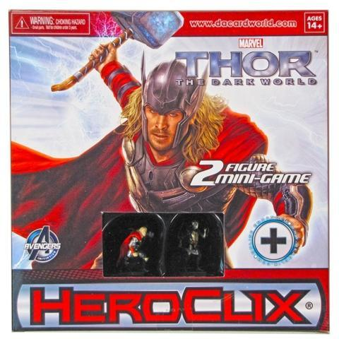 Akihabaratoys Coleccionable HEROCLIX MINI GAME THOR THE DARK WORLD