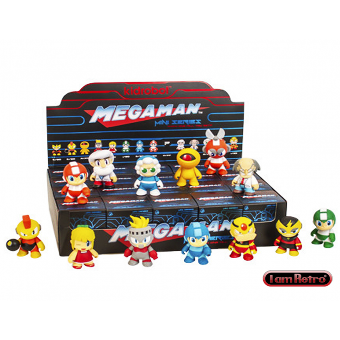 Akihabaratoys Coleccionable KIDROBOT MINI SERIES MEGA MAN BLIND BOX