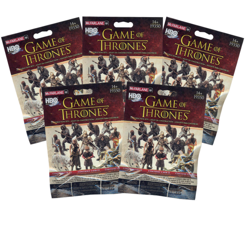 Akihabaratoys Coleccionable MCFARLANE BLIND BAG BOOSTER GAME OF THRONES