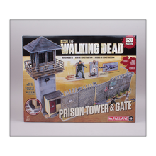 Akihabaratoys Coleccionable MCFARLANE TWD BUILD SET PRISON TOWER & GATE