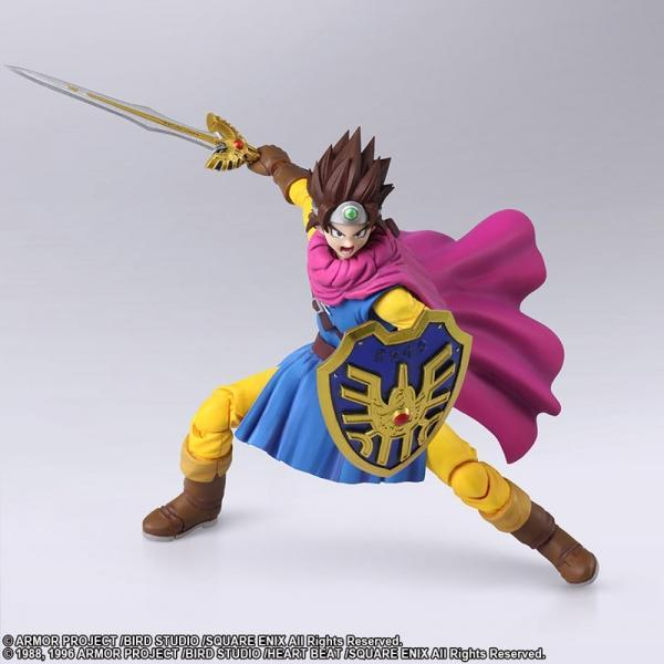 Akihabaratoys Figura Articulada Bring Arts Dragon Quest III - The Seeds Of Salvation - Hero - Preventa
