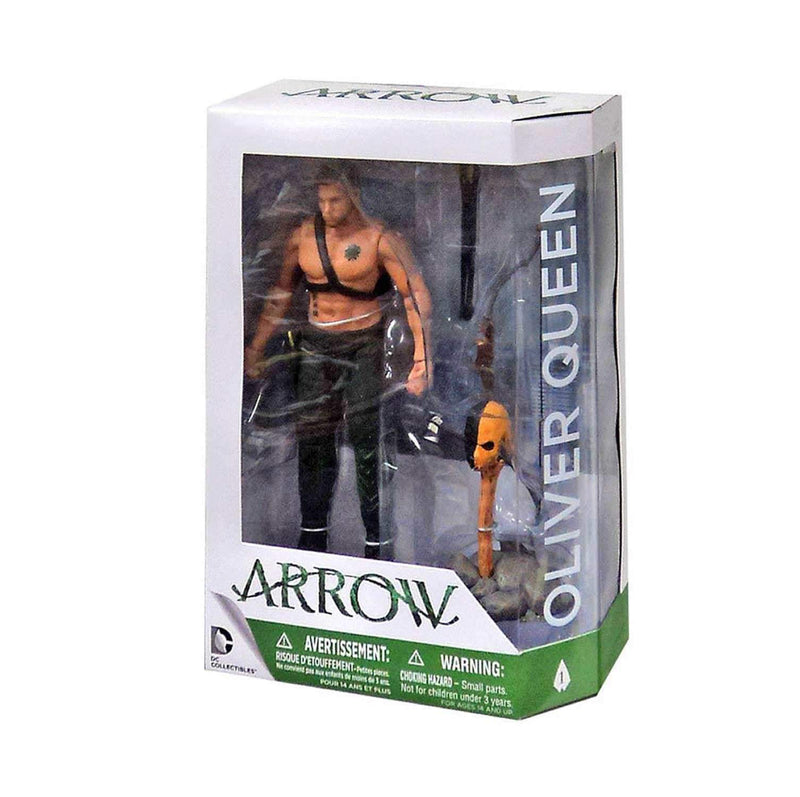 Akihabaratoys Figura Articulada DC Collectibles Arrow: Oliver Queen & Totem