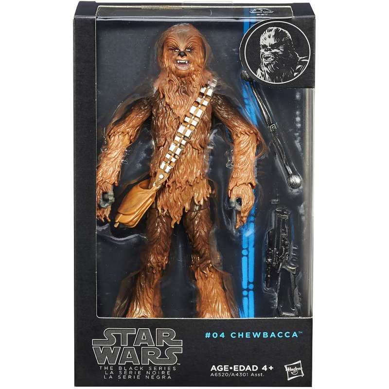 Akihabaratoys Figura Articulada HASBRO STAR WARS THE BLACK SERIES CHEWBACCA