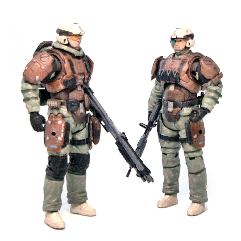 Akihabaratoys Figura Articulada MCFARLANE HALO REACH TWO PACK UNSC TROOPER