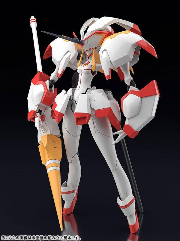 Akihabaratoys Figura Articulada MODEROID DARLING In The FRANXX - Strelitzia Model Kit - Preventa